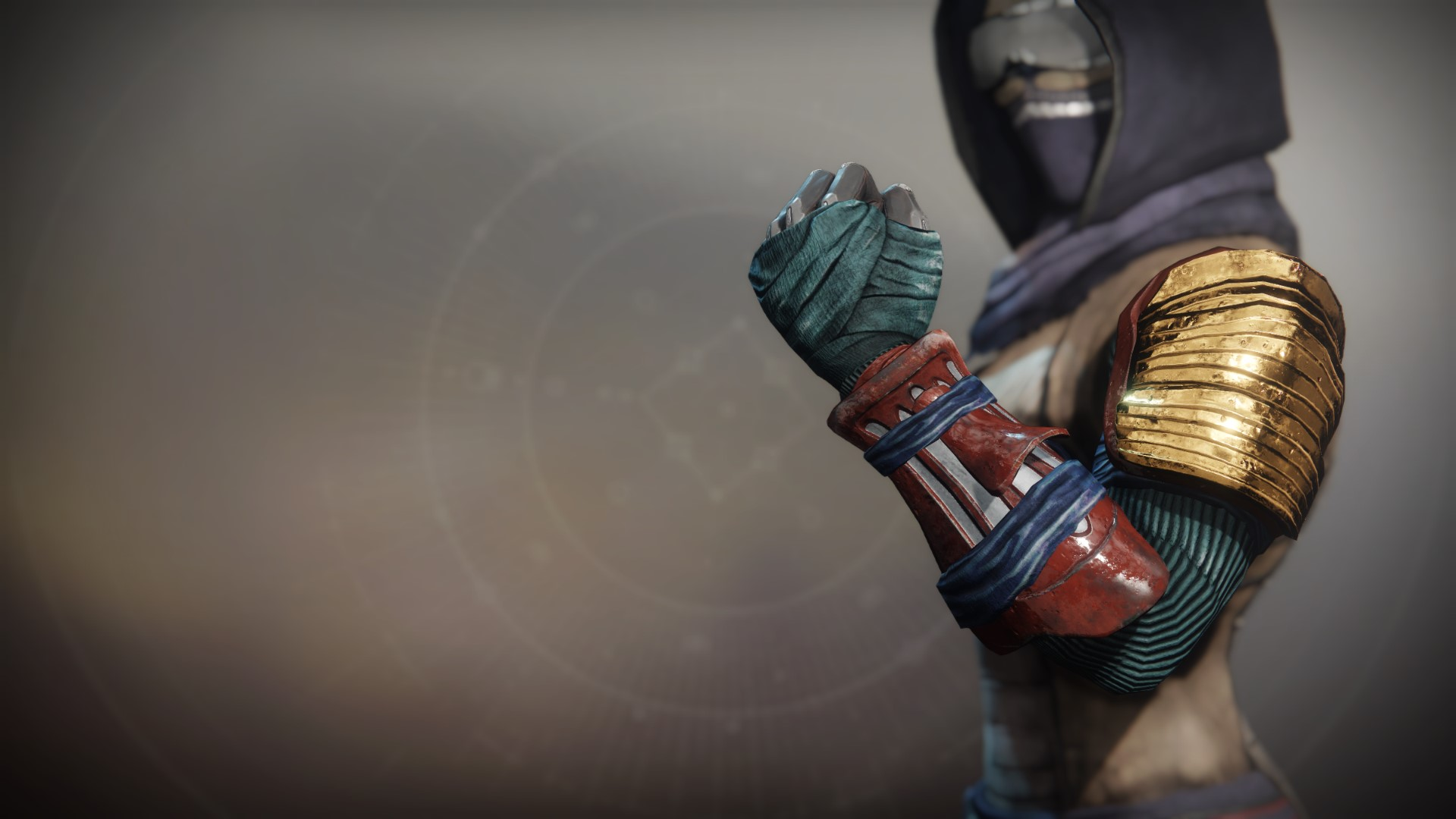 An in-game render of the Iron Remembrance Grips.