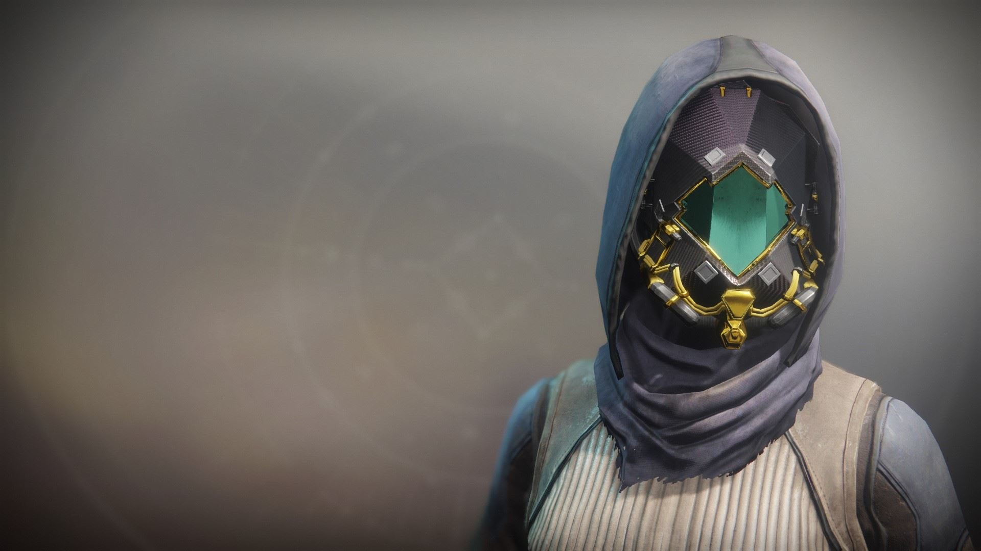 An in-game render of the Abhorrent Imperative Mask.