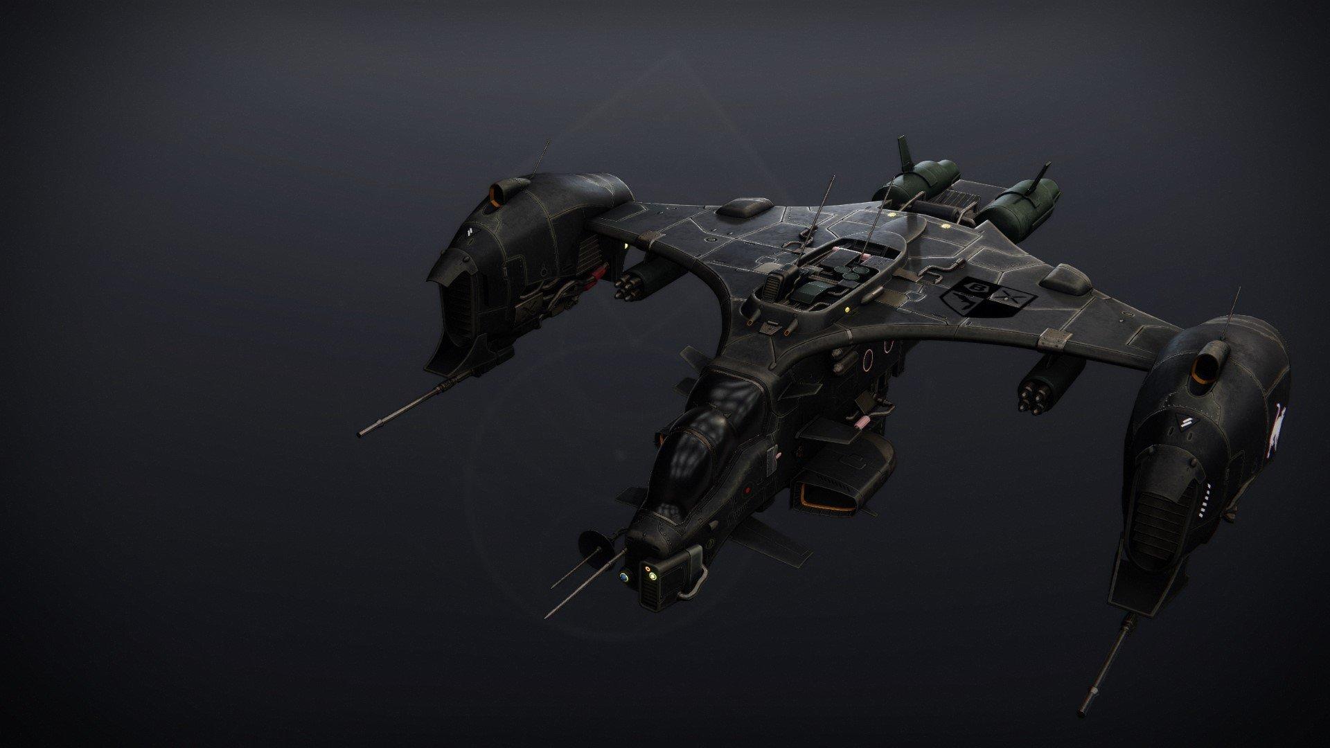 An in-game render of the Pragmat Harrier.