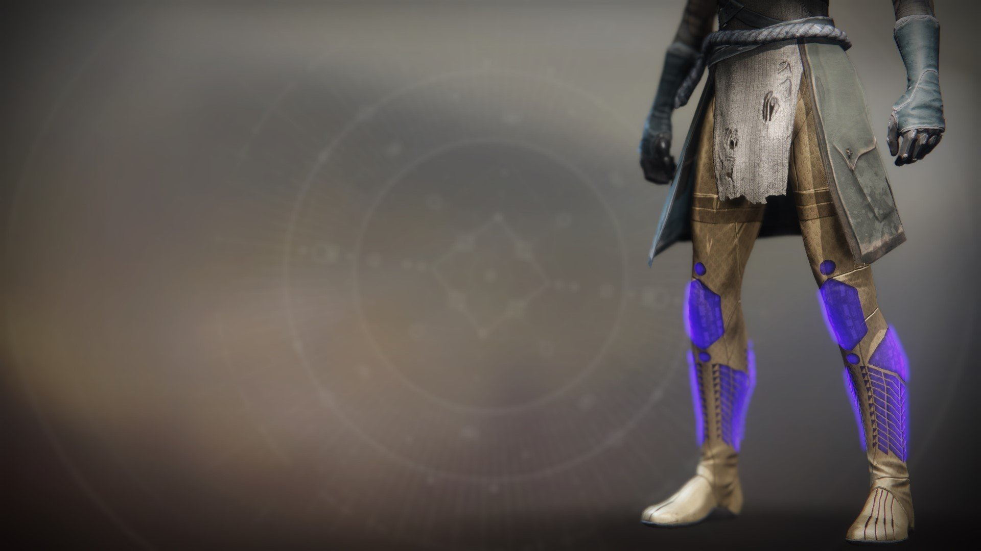 An in-game render of the Boots of the Emperor's Minister.