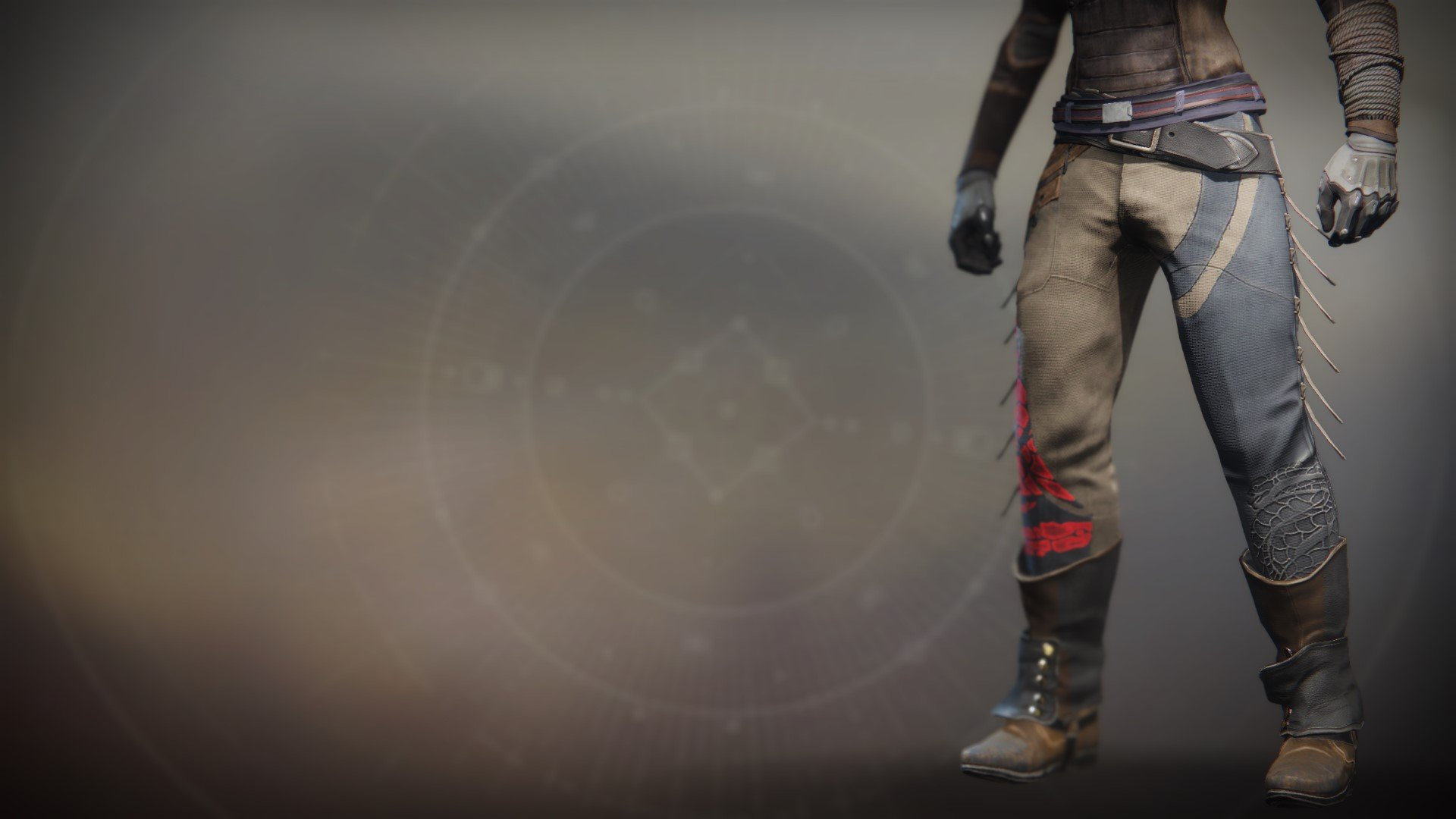 An in-game render of the Illicit Invader Strides.
