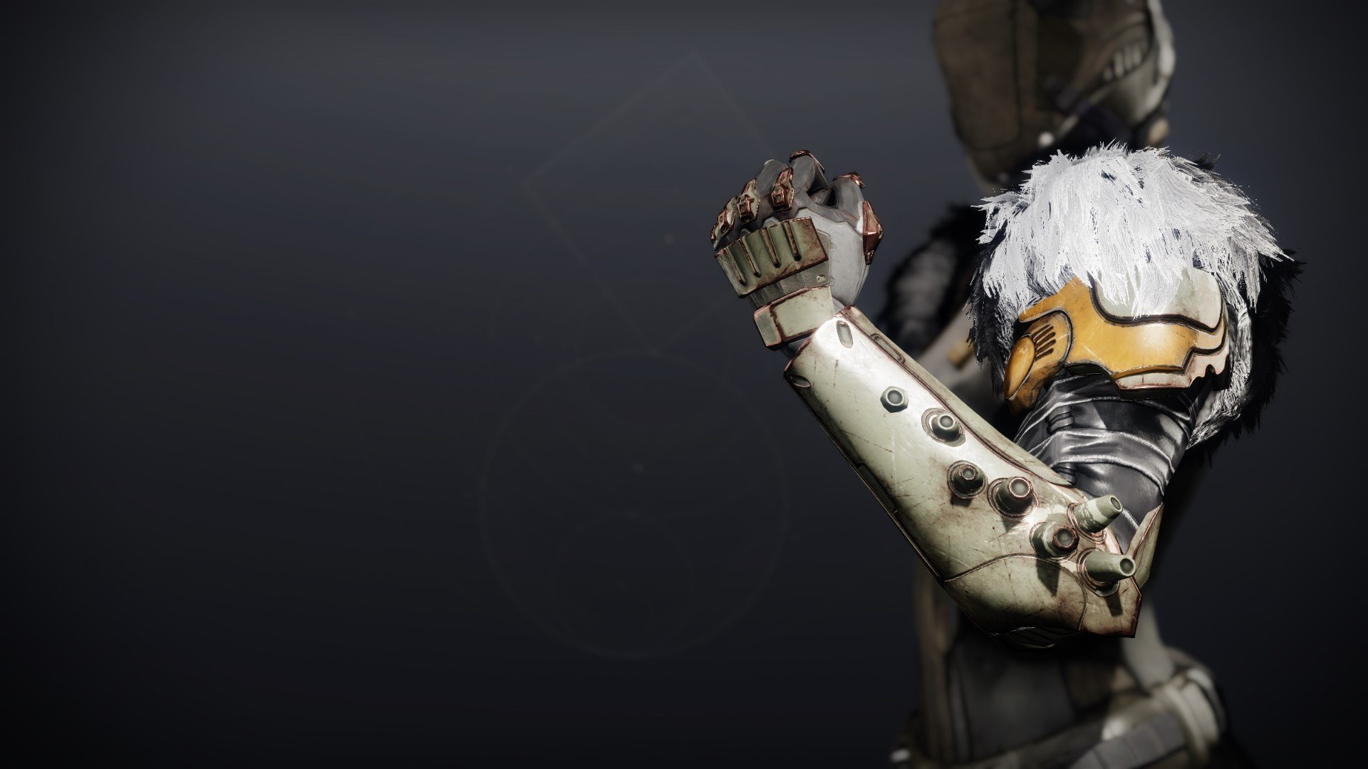 An in-game render of the Lightkin Gauntlets.