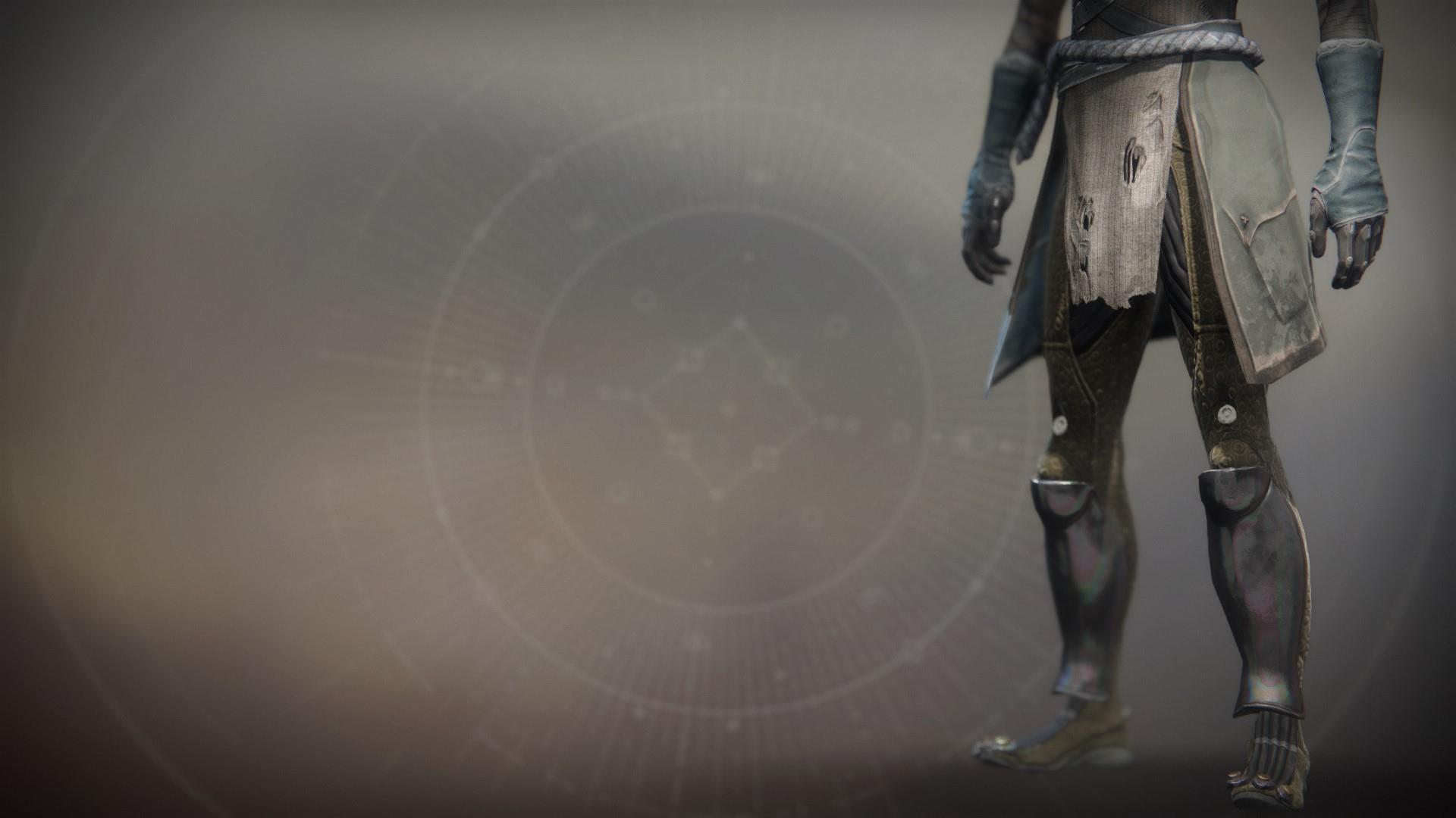 An in-game render of the Boots of Sekris.