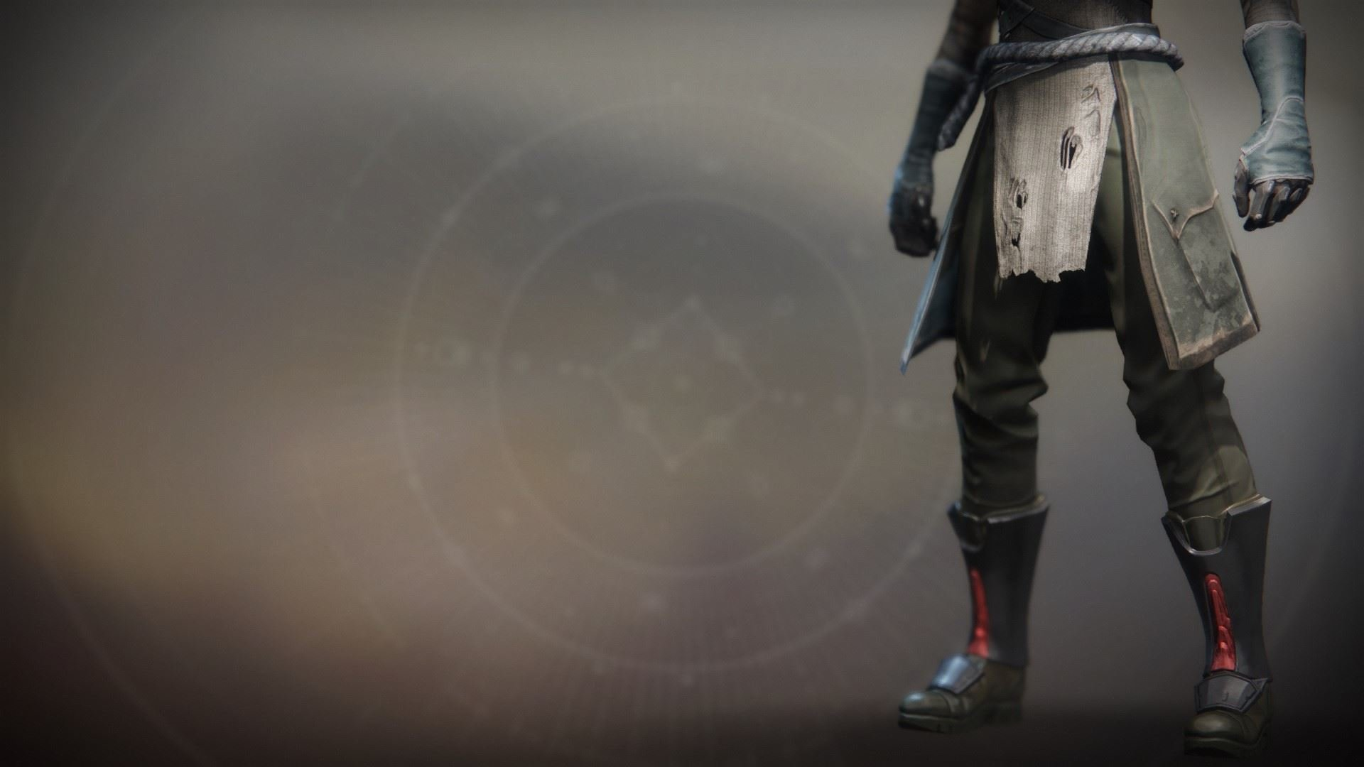 An in-game render of the Annealed Shaper Boots.