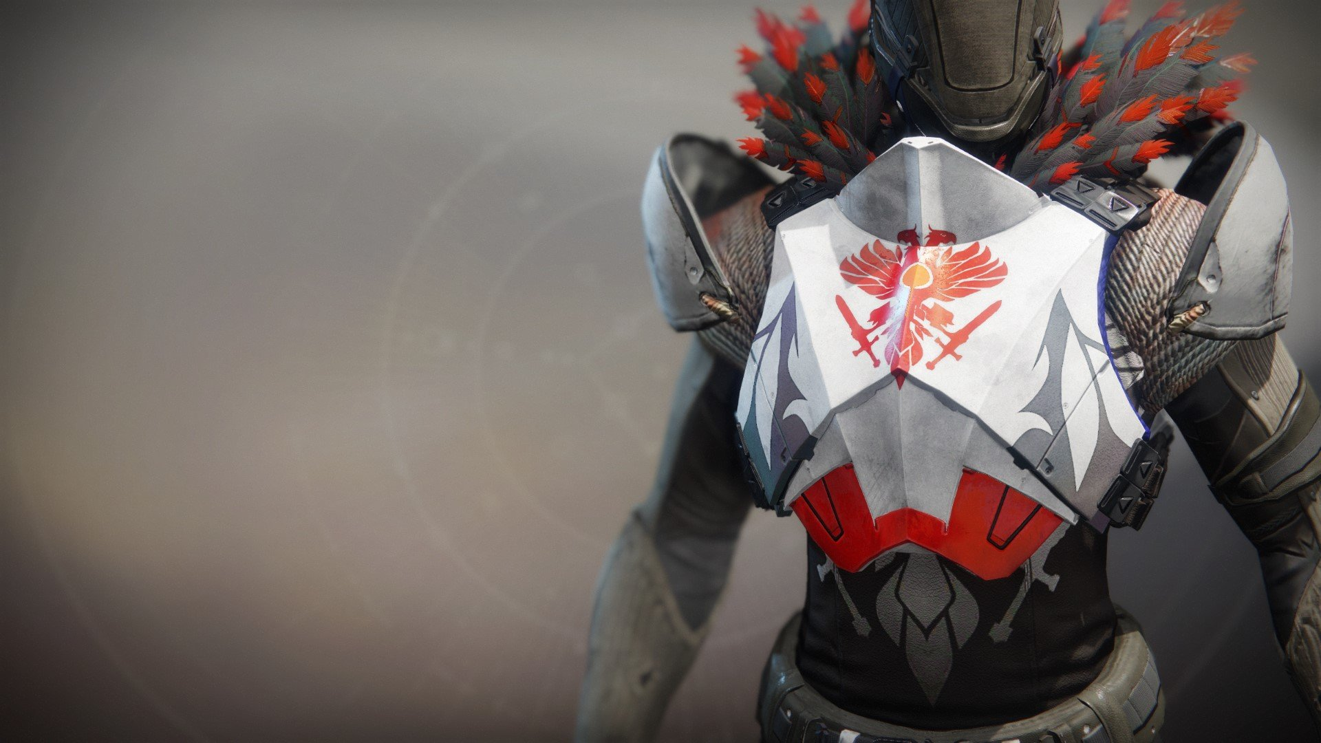 An in-game render of the Phoenix Battle Ornament.