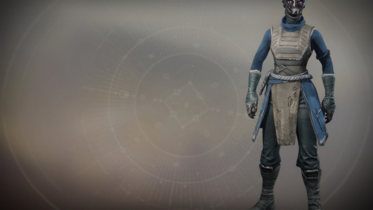 An in-game render of the Aspirant Robes.