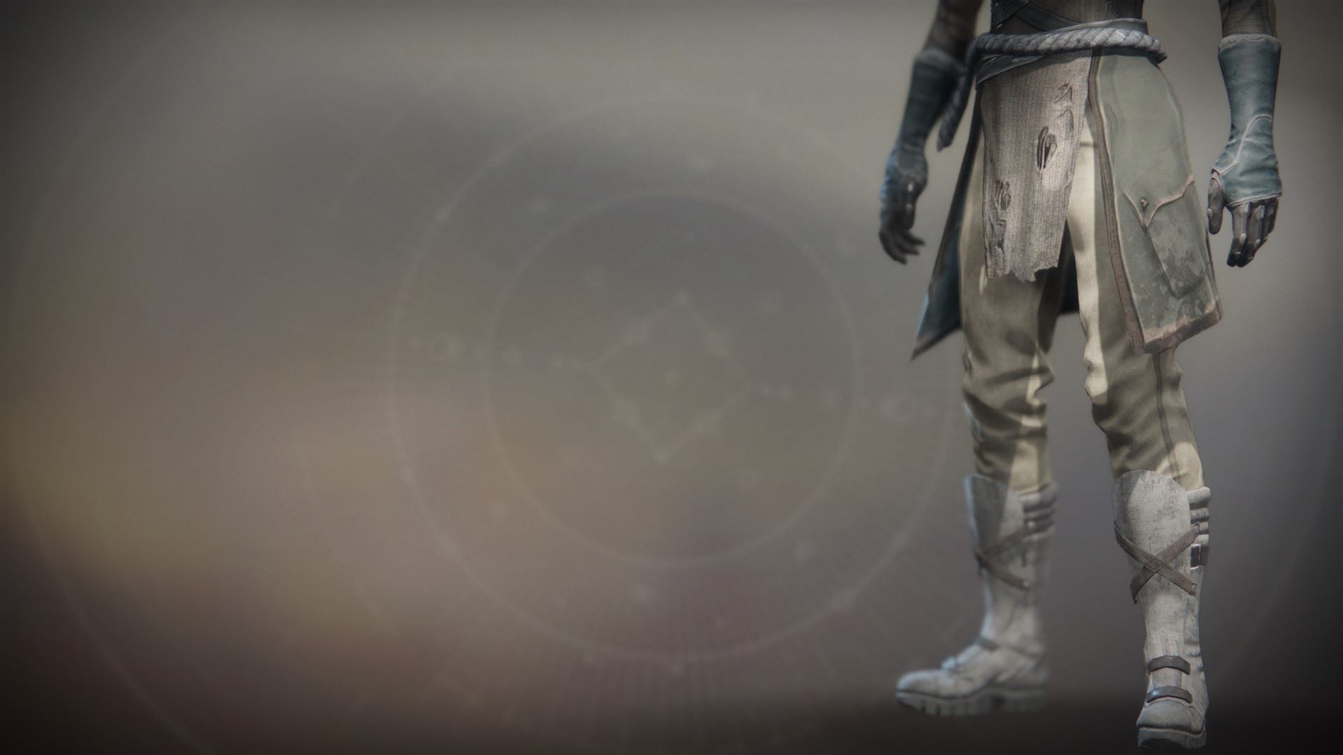 An in-game render of the Solstice Boots (Rekindled).