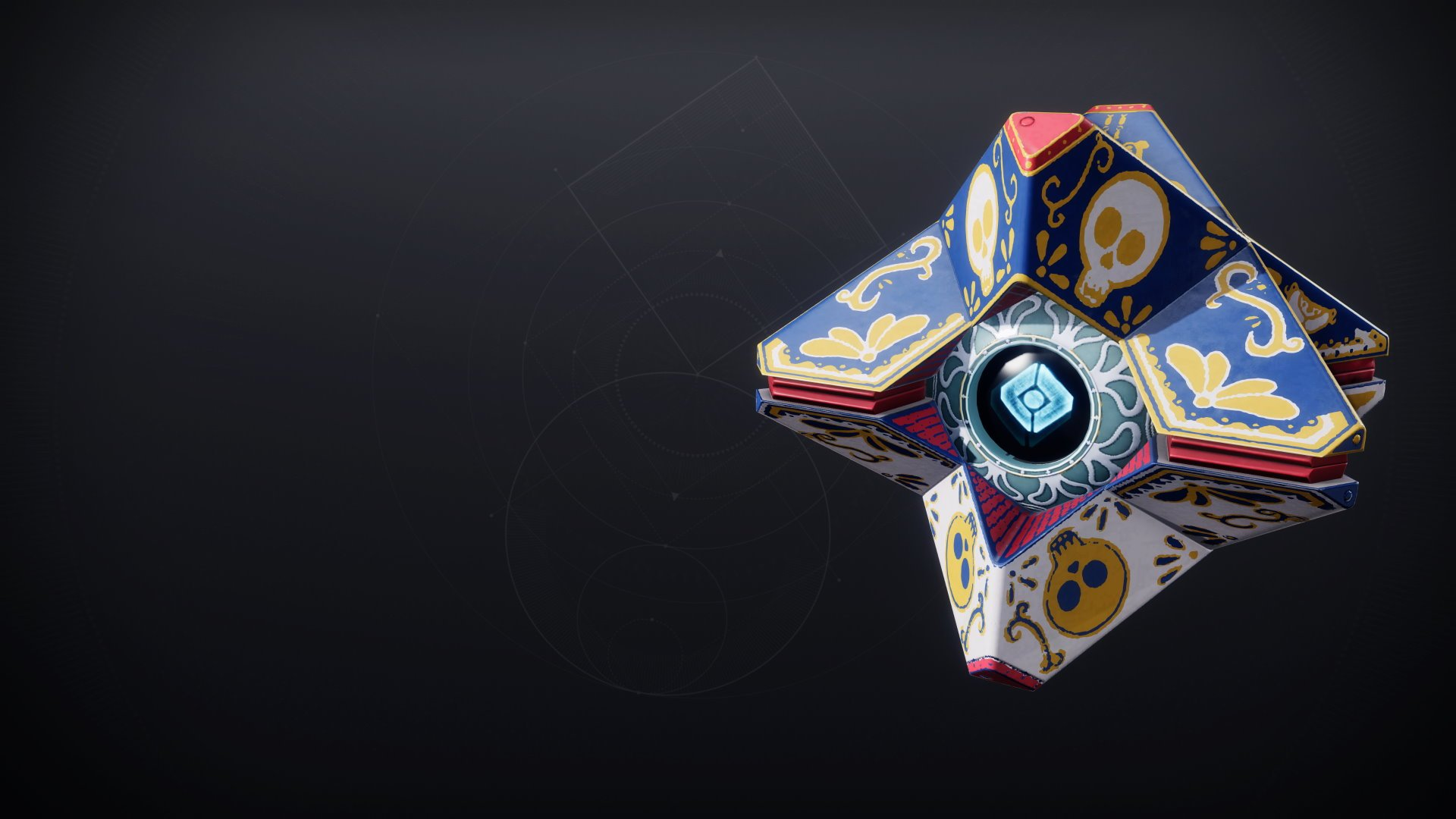 An in-game render of the Calavera Shell.