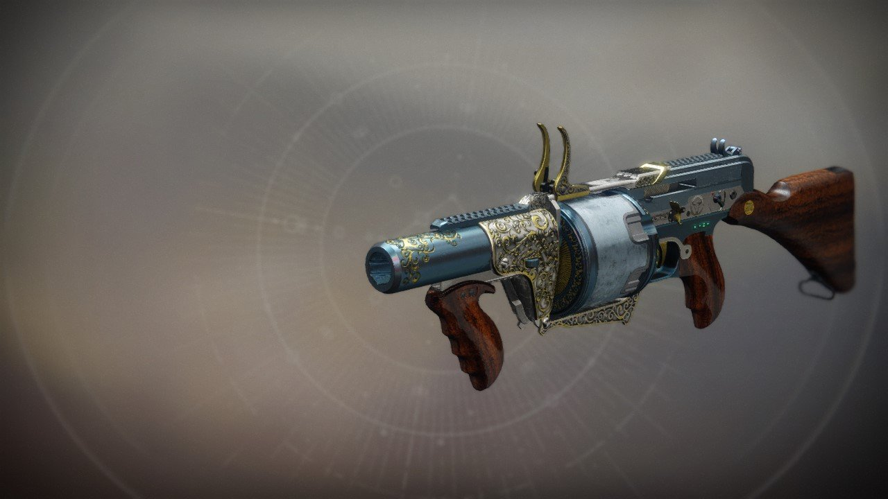 An in-game render of the The Prospector.