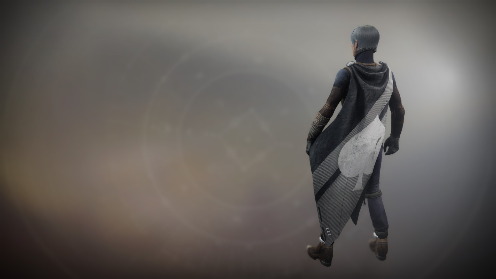 An in-game render of the Memory of Cayde Cloak.