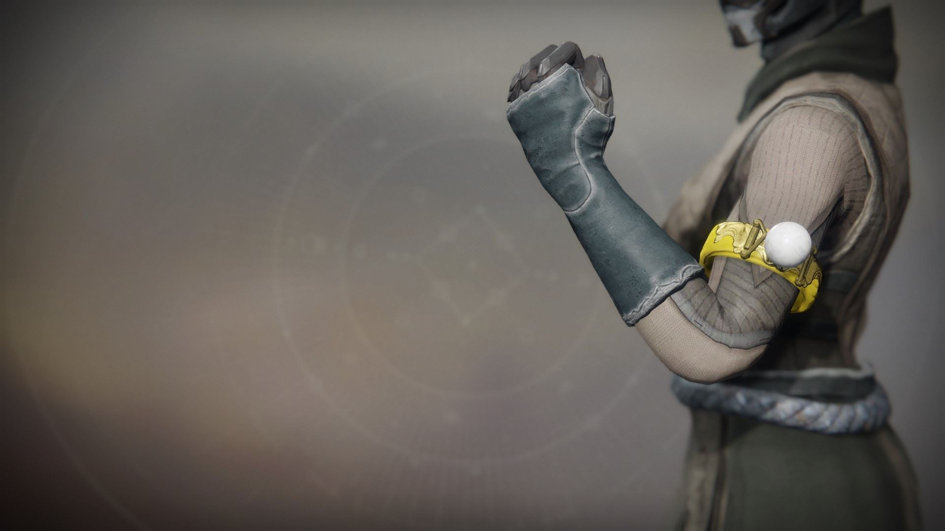 An in-game render of the Solstice Bond (Resplendent).