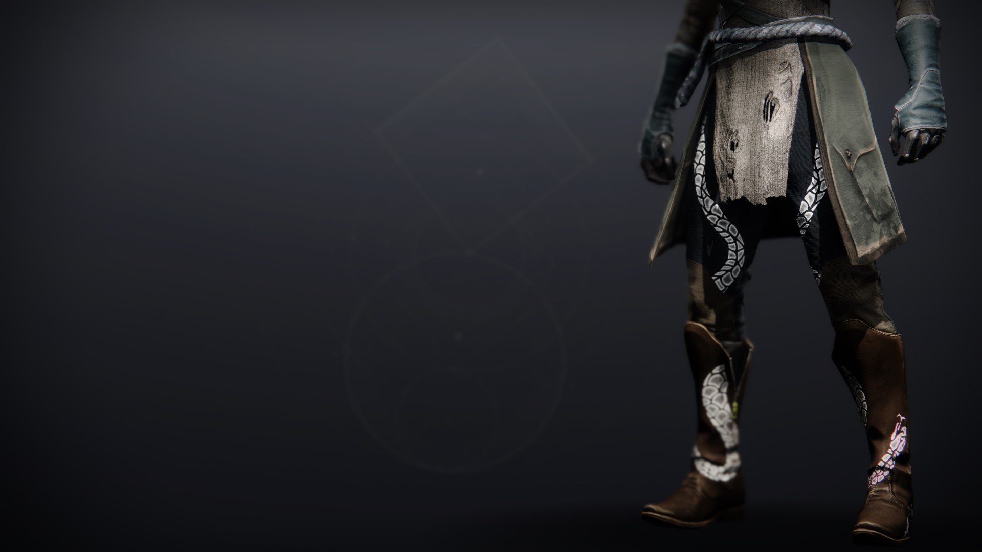 An in-game render of the Illicit Collector Boots.