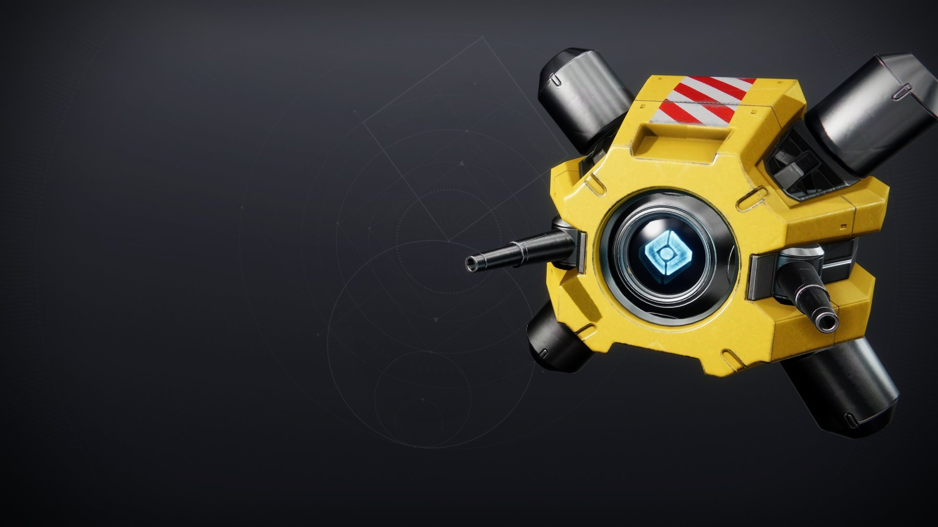 An in-game render of the Firebreak Shell.