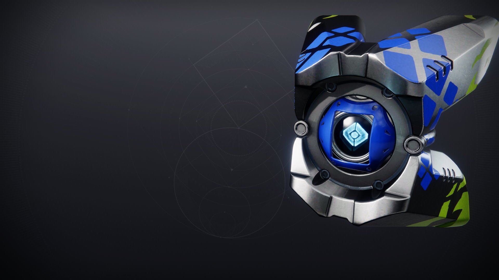 An in-game render of the Redline Shell.