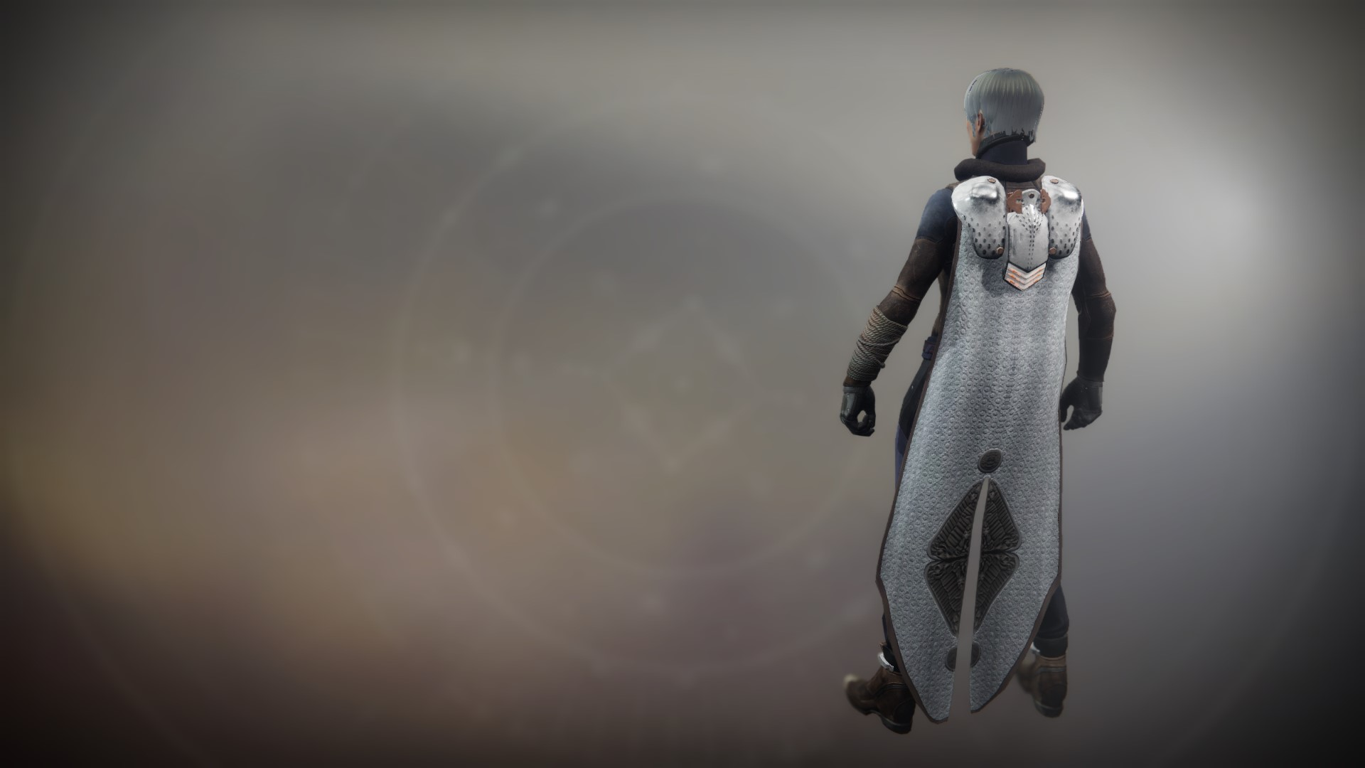An in-game render of the Equitis Shade Cloak.