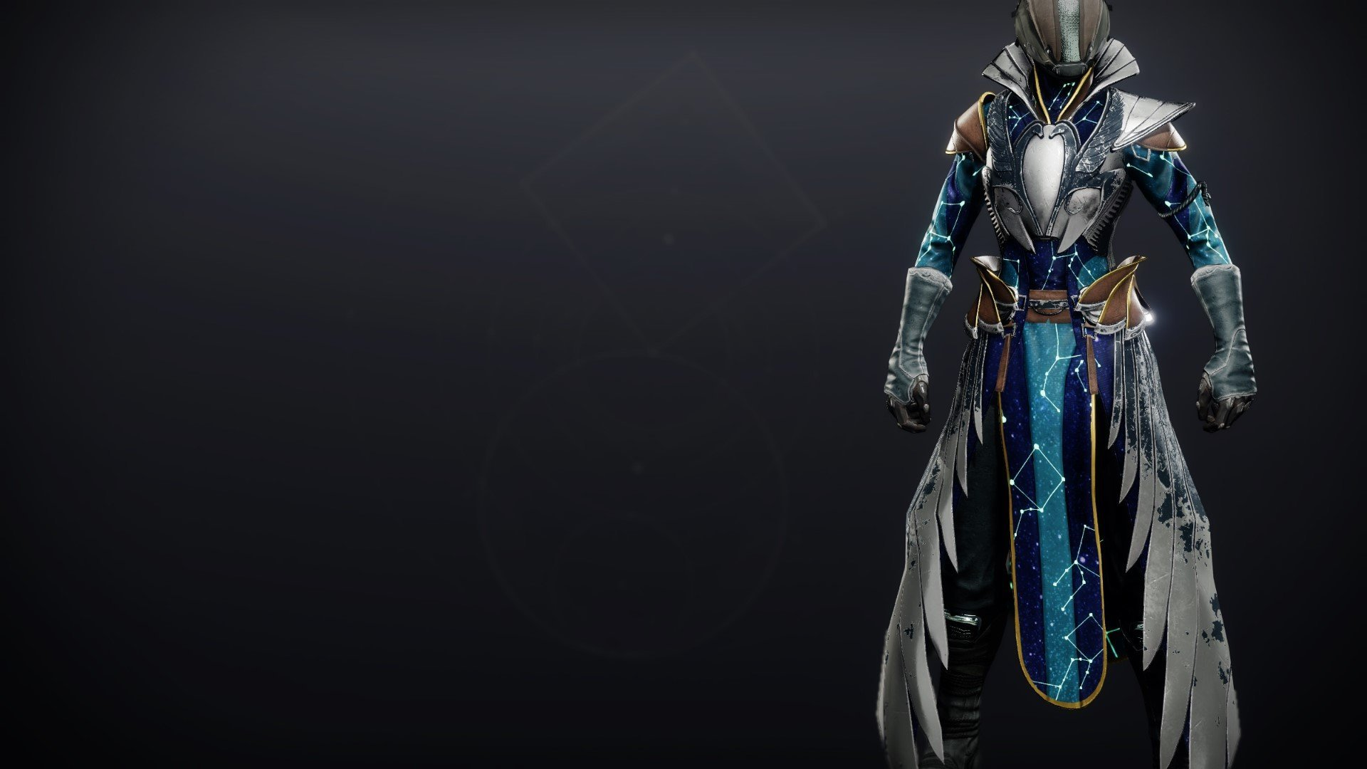 An in-game render of the Celestial Robes.