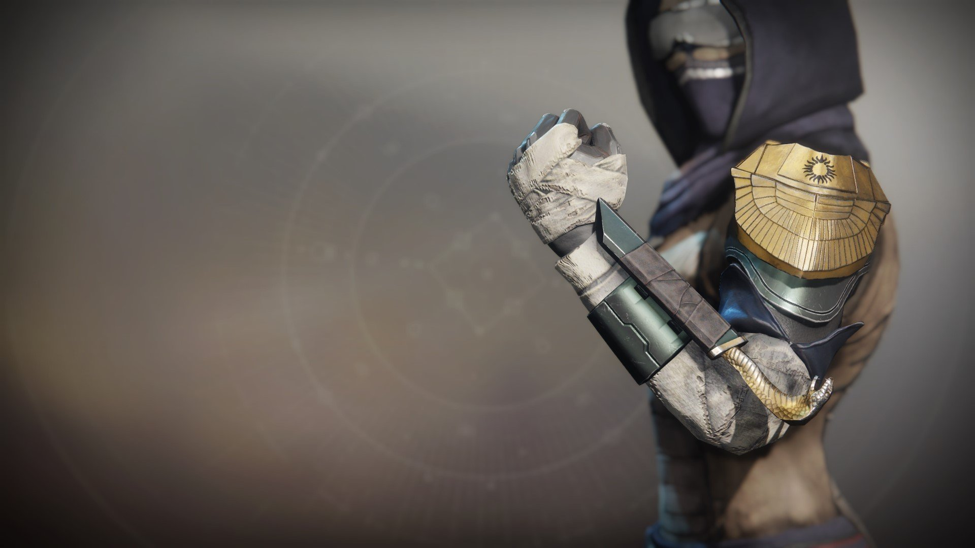 An in-game render of the Grips of the Exile.