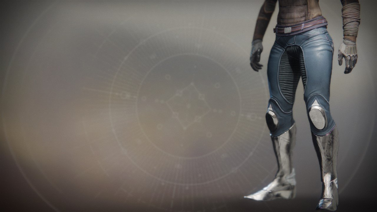 An in-game render of the Frumious Strides.