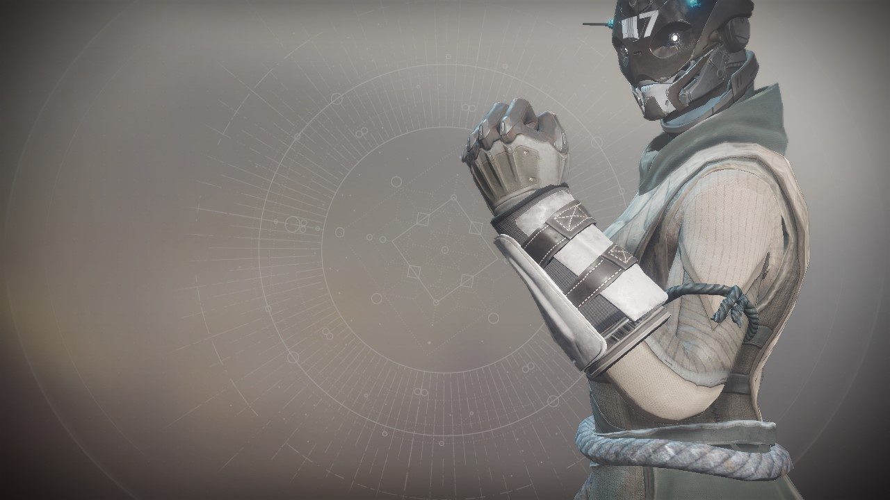 An in-game render of the Anti-Extinction Gloves.