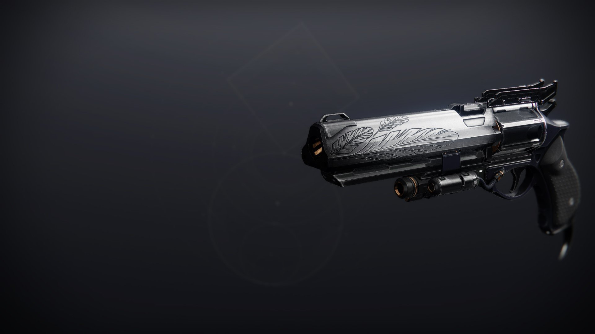 An in-game render of the Hawkmoon.