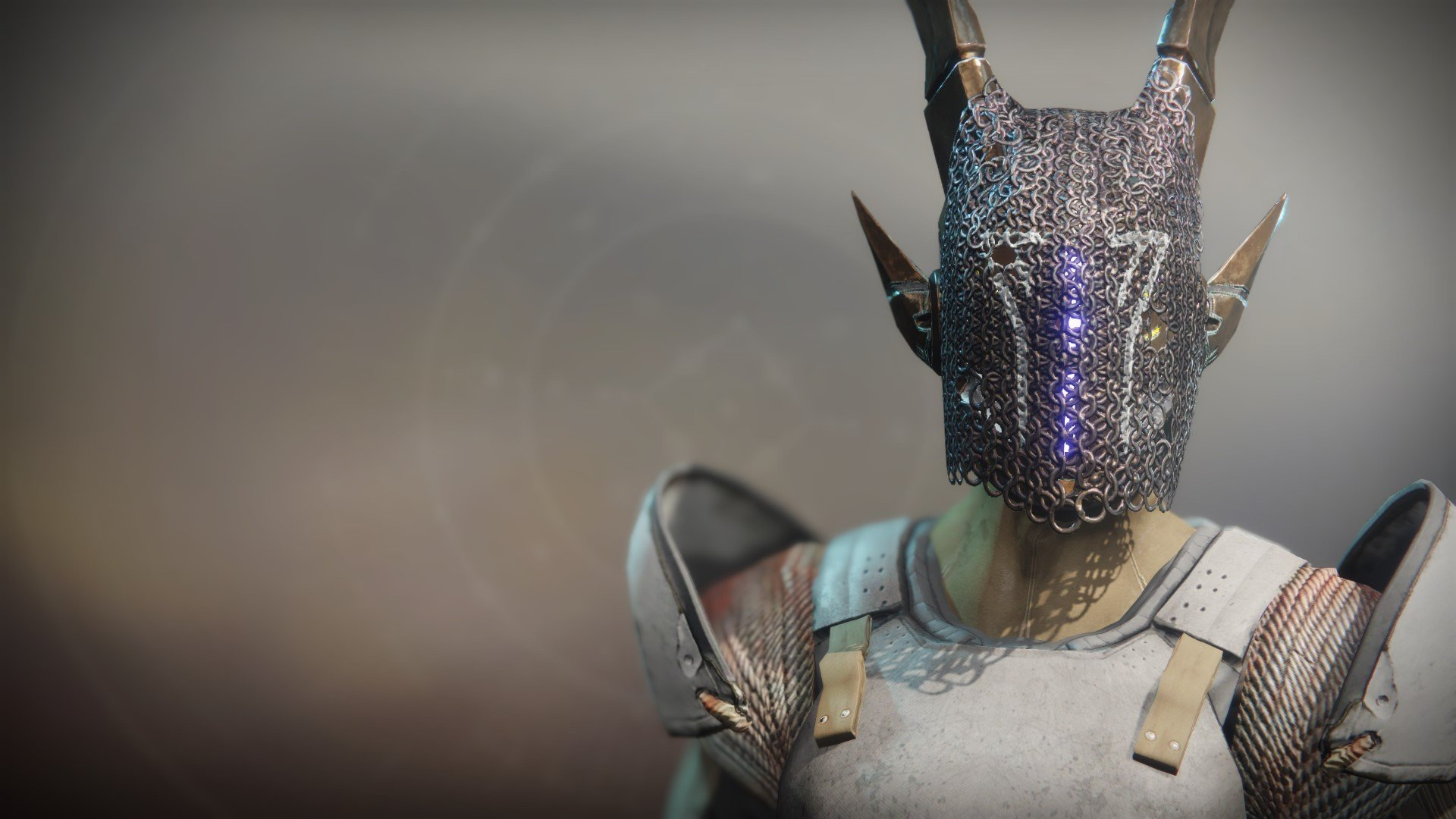An in-game render of the Mask of the Quiet One.