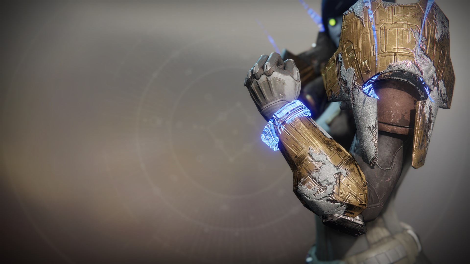 An in-game render of the Gauntlets of Exaltation.