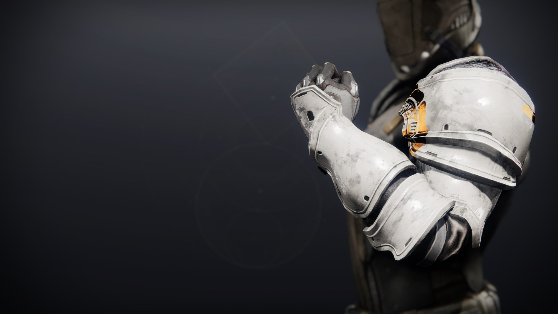 An in-game render of the Iron Will Gauntlets.