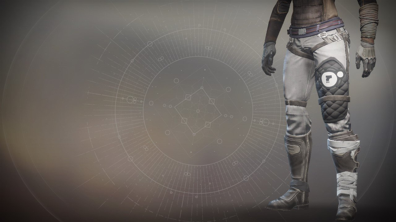 An in-game render of the Anti-Extinction Legs.
