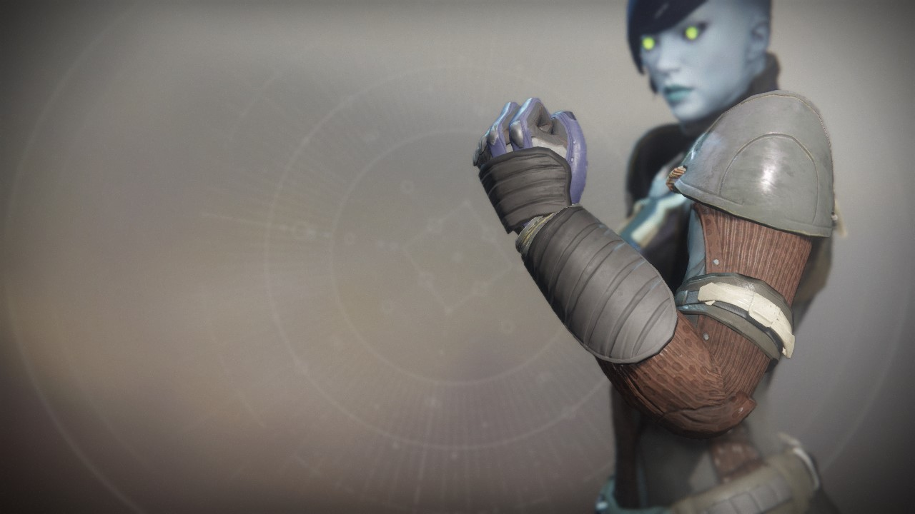 An in-game render of the Renegade Gauntlets.