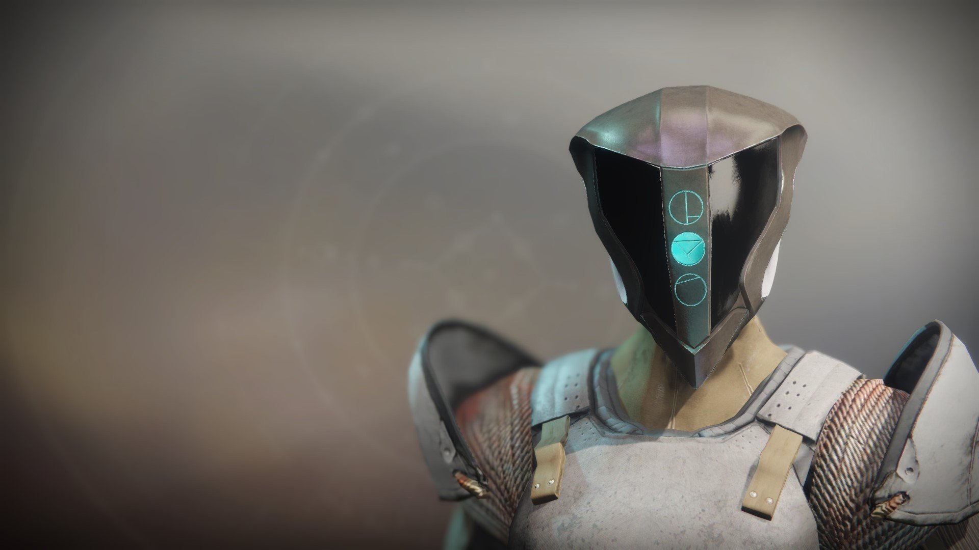 An in-game render of the Crushing Helm (CODA).