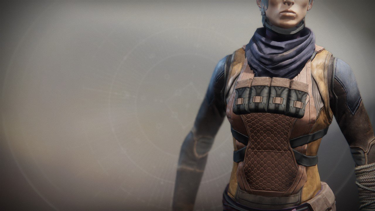 An in-game render of the Wastelander Vest.