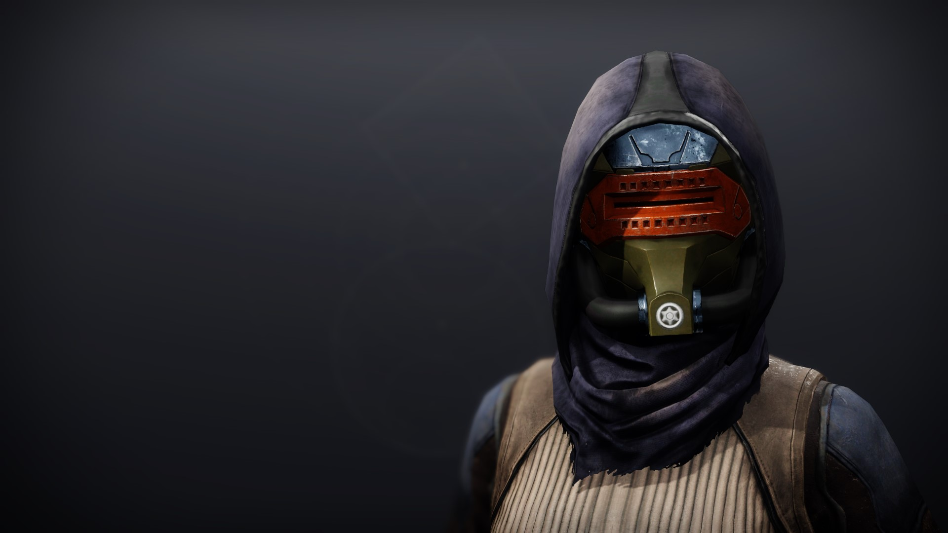 An in-game render of the Phobos Warden Mask.