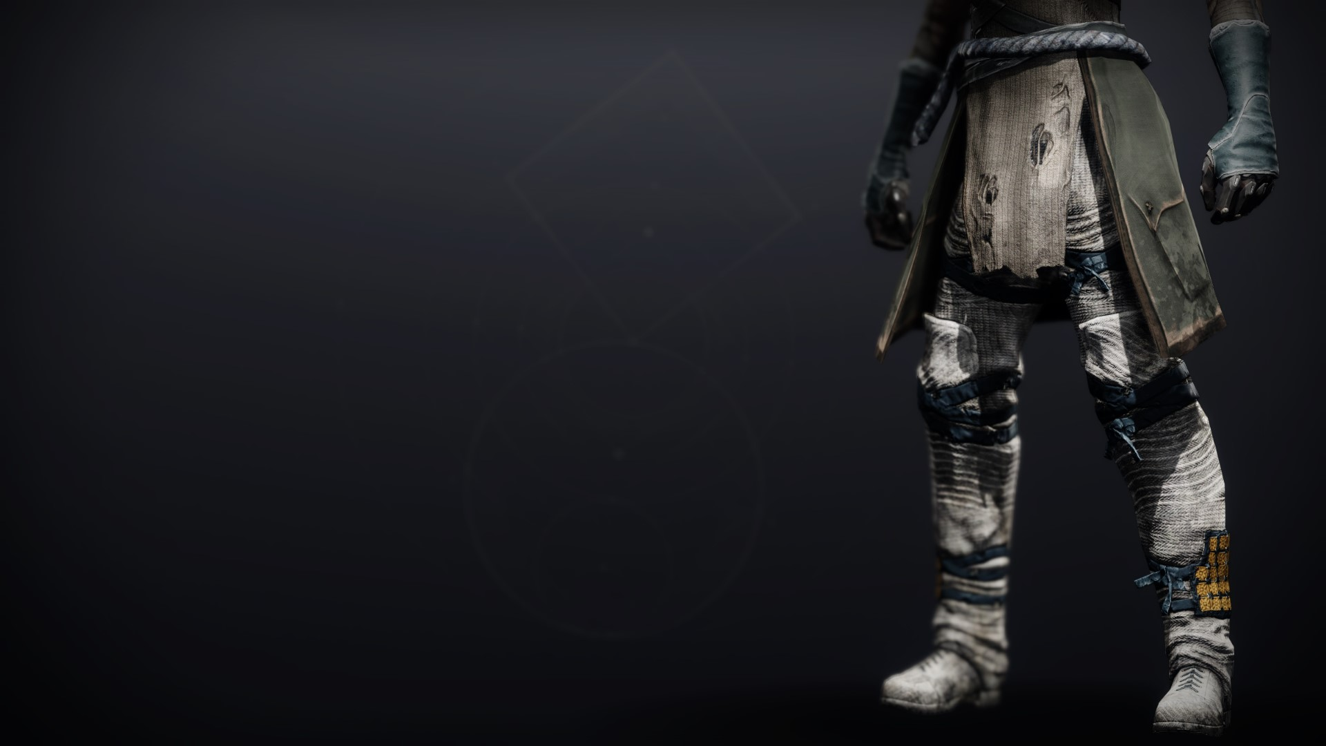 An in-game render of the Dreambane Boots.