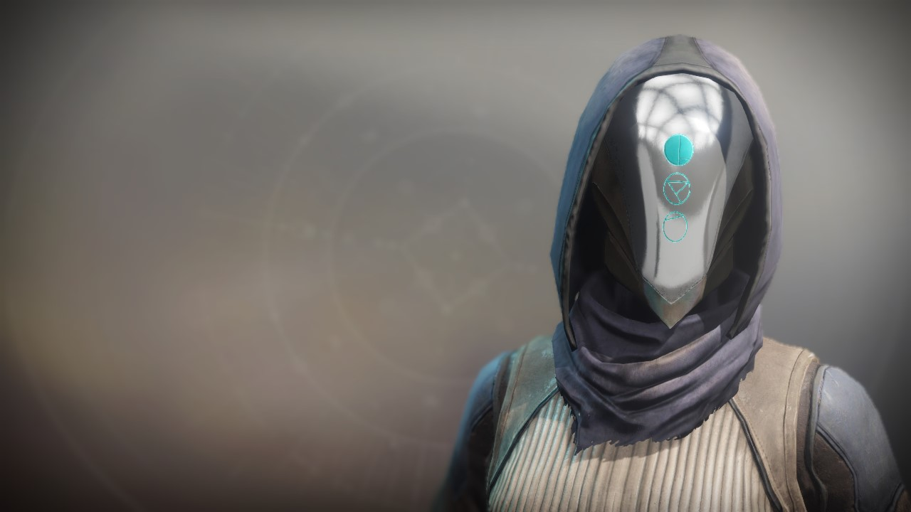 An in-game render of the Flowing Cowl.