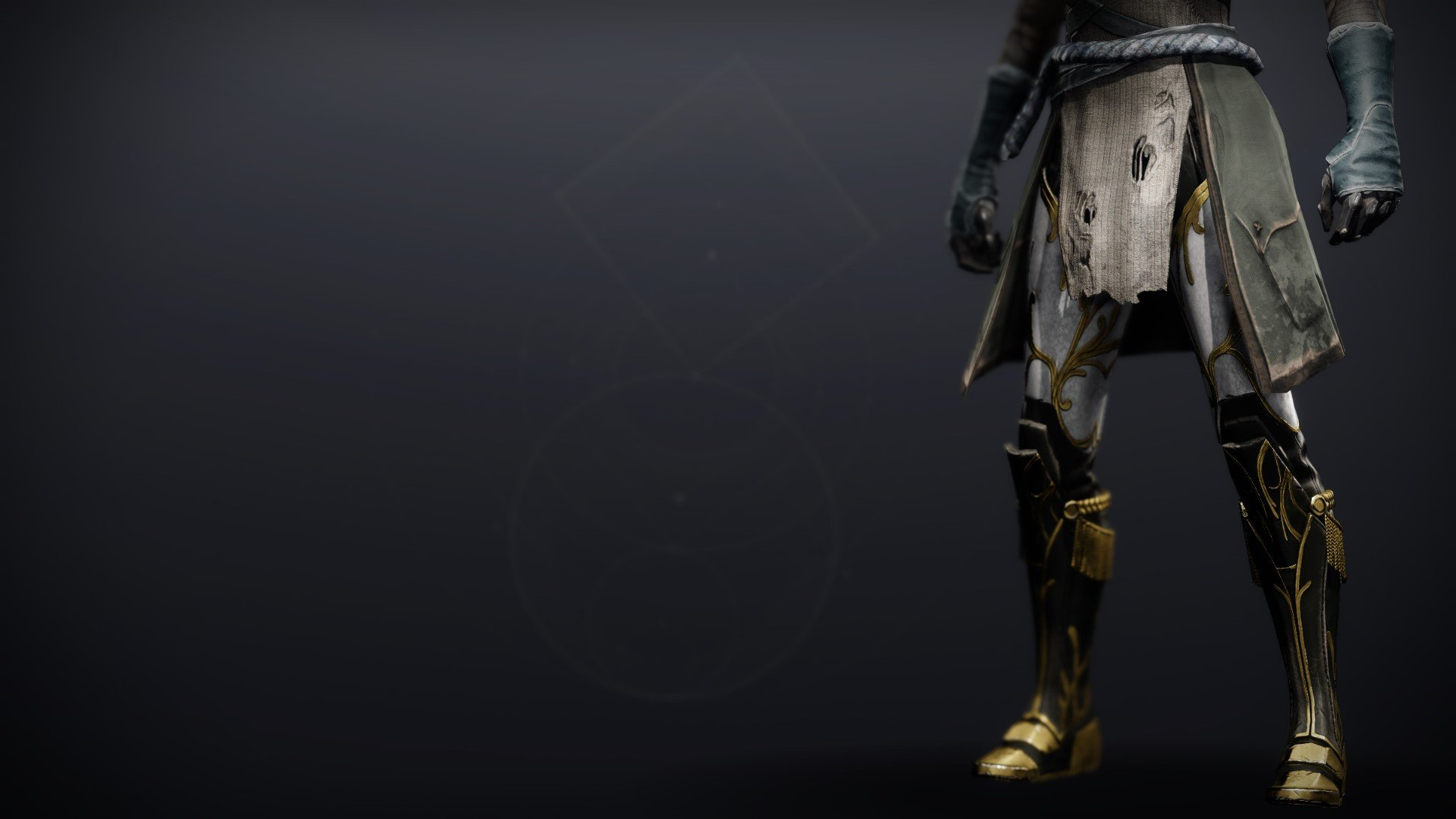 An in-game render of the Celestine Boots (Majestic).