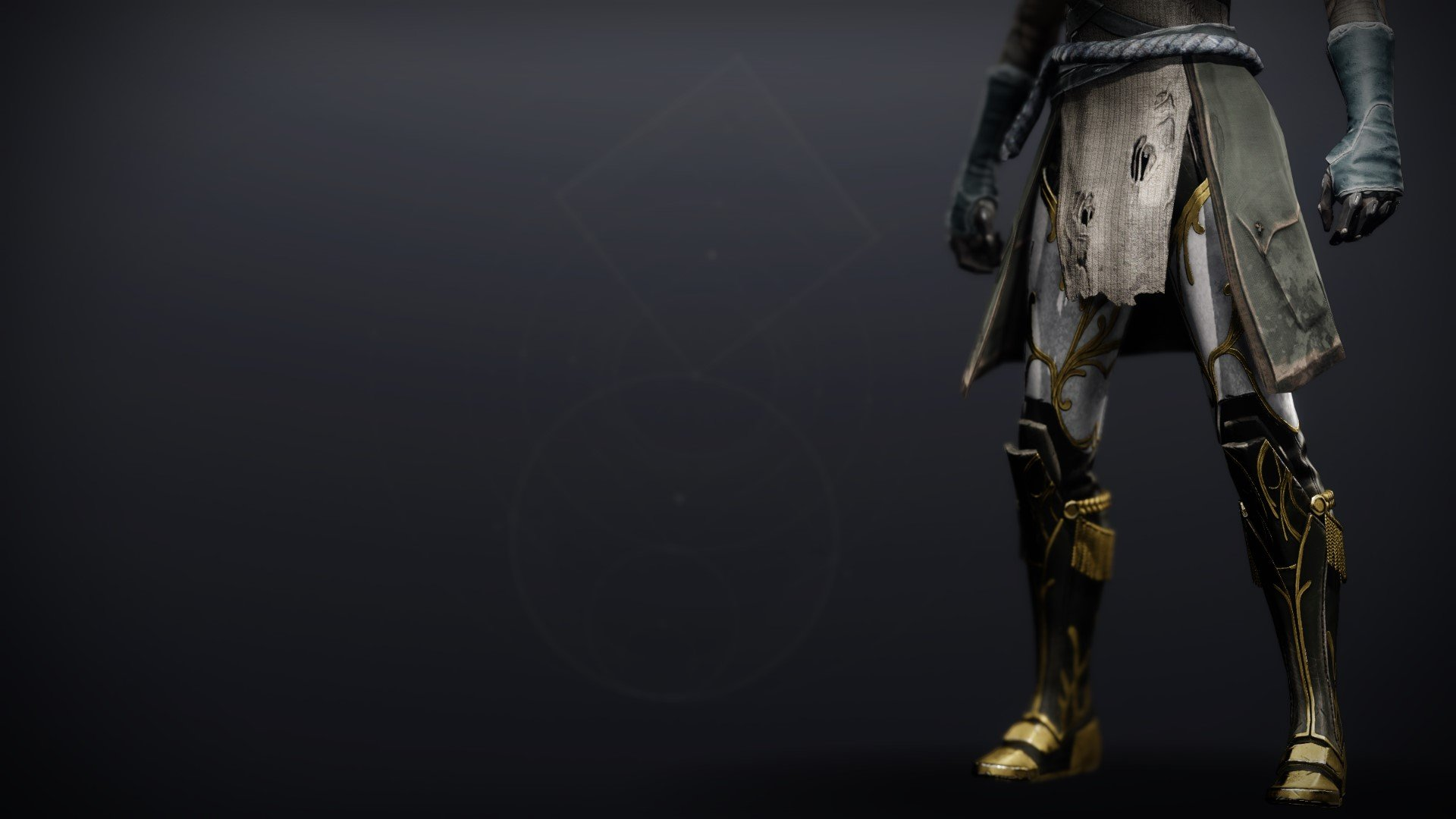 An in-game render of the Celestine Boots (Magnificent).