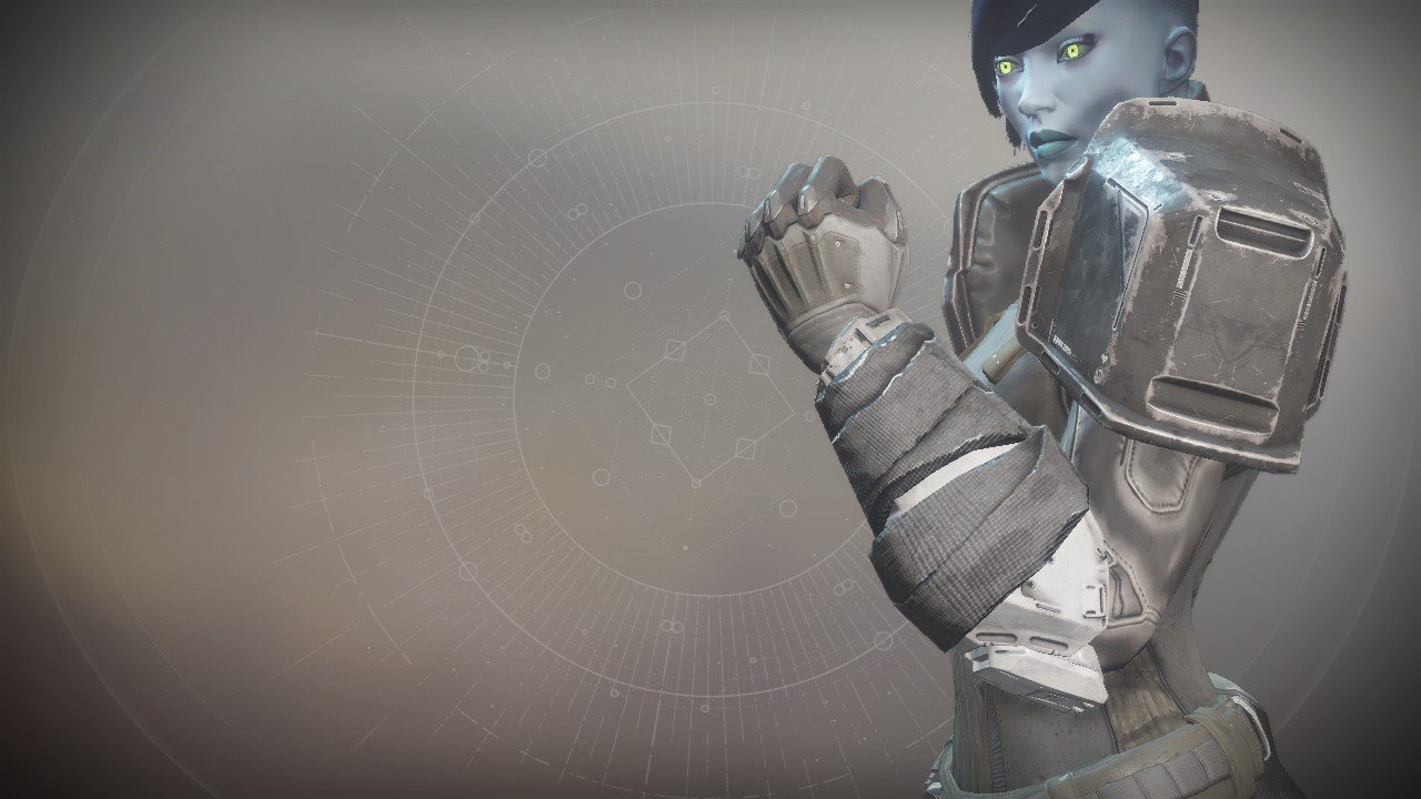 An in-game render of the Anti-Extinction Gauntlets.