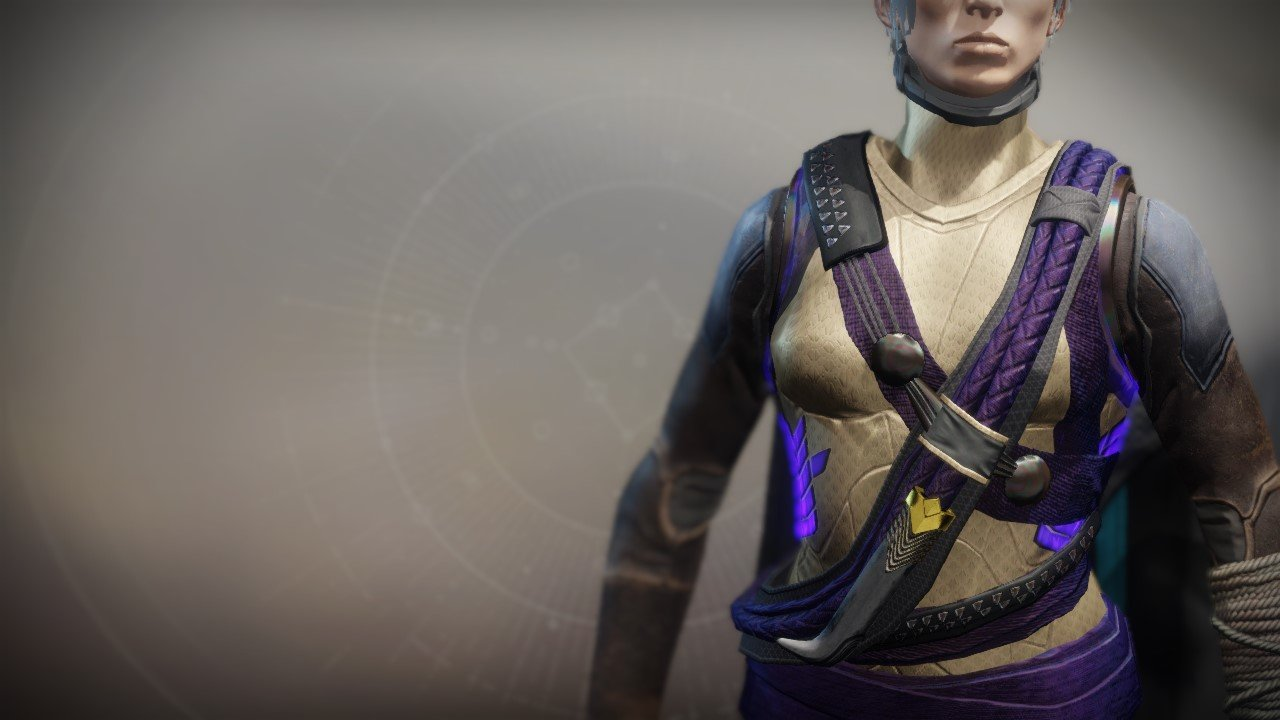 An in-game render of the Vest of the Emperor's Agent.