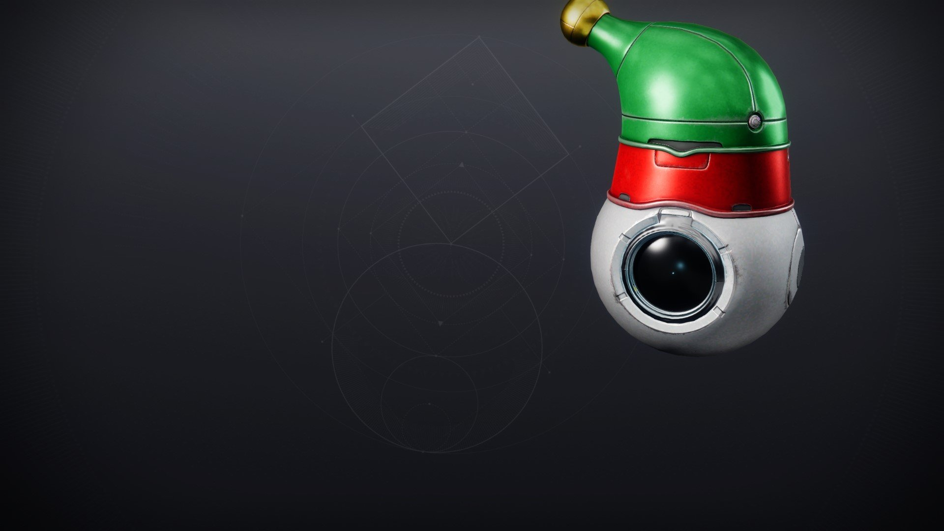 An in-game render of the Little Helper Shell.