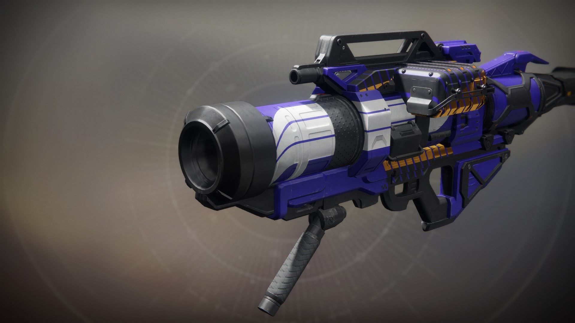 An in-game render of the Pit Launcher.