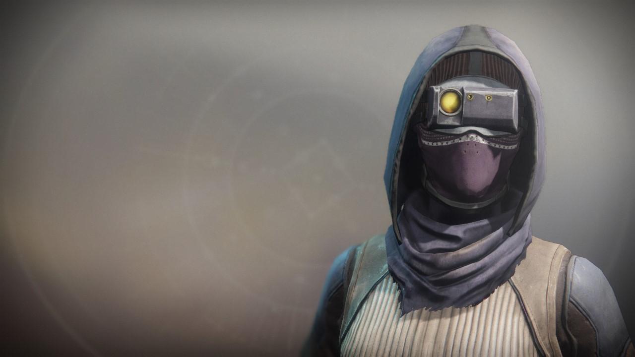 An in-game render of the Wastelander Mask.