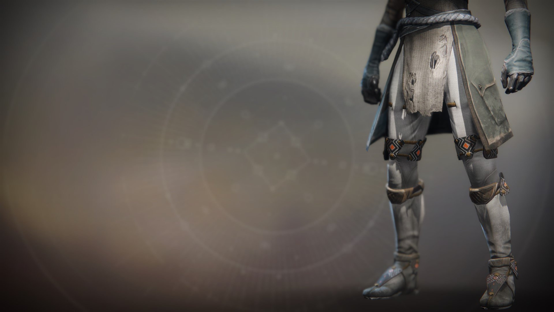 An in-game render of the Lunafaction Boots.