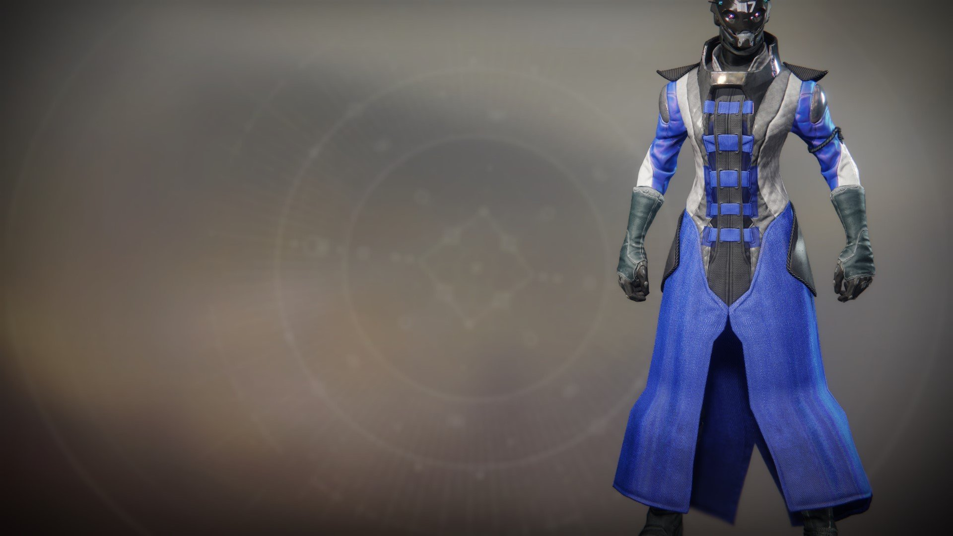 An in-game render of the Insight Vikti Robes.