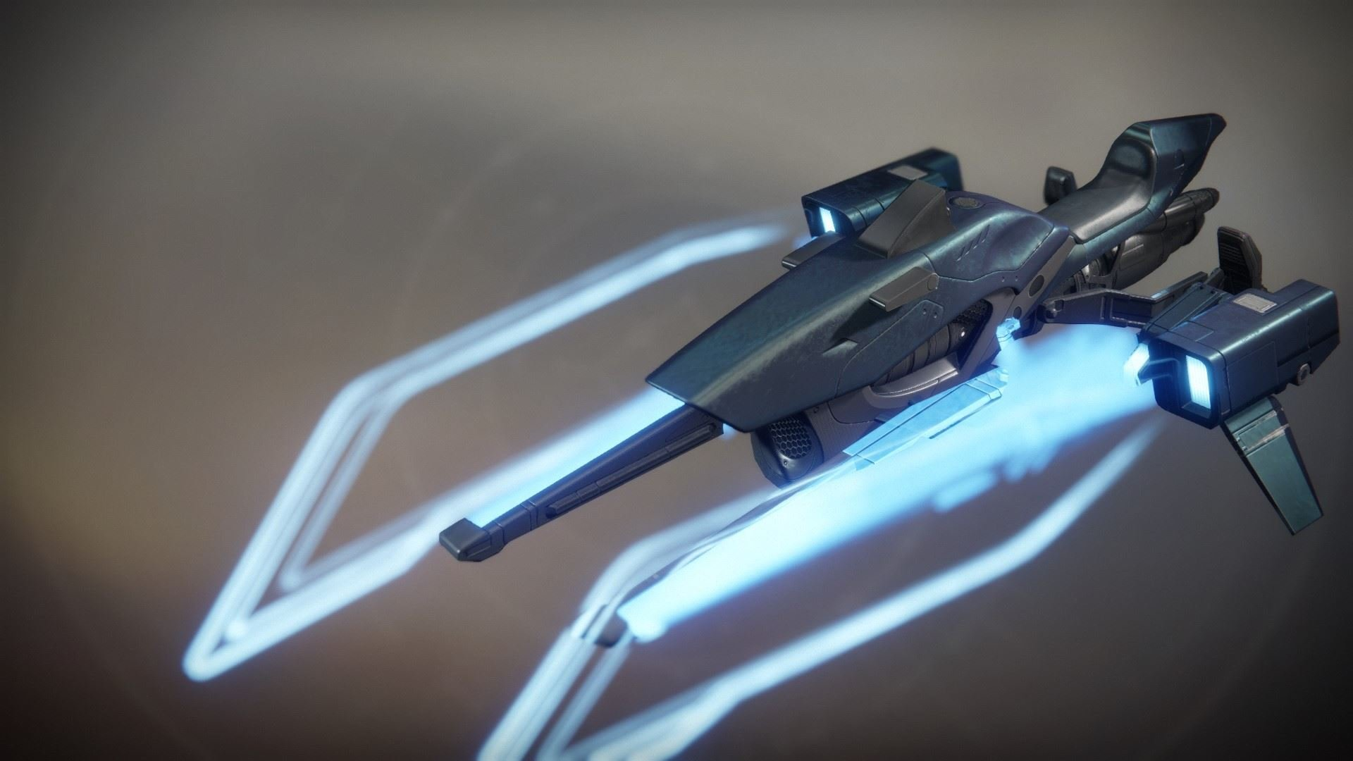 An in-game render of the Blacklight Razor.