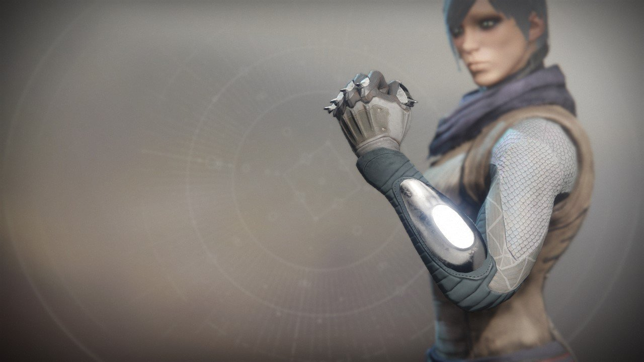 An in-game render of the Frumious Grips.