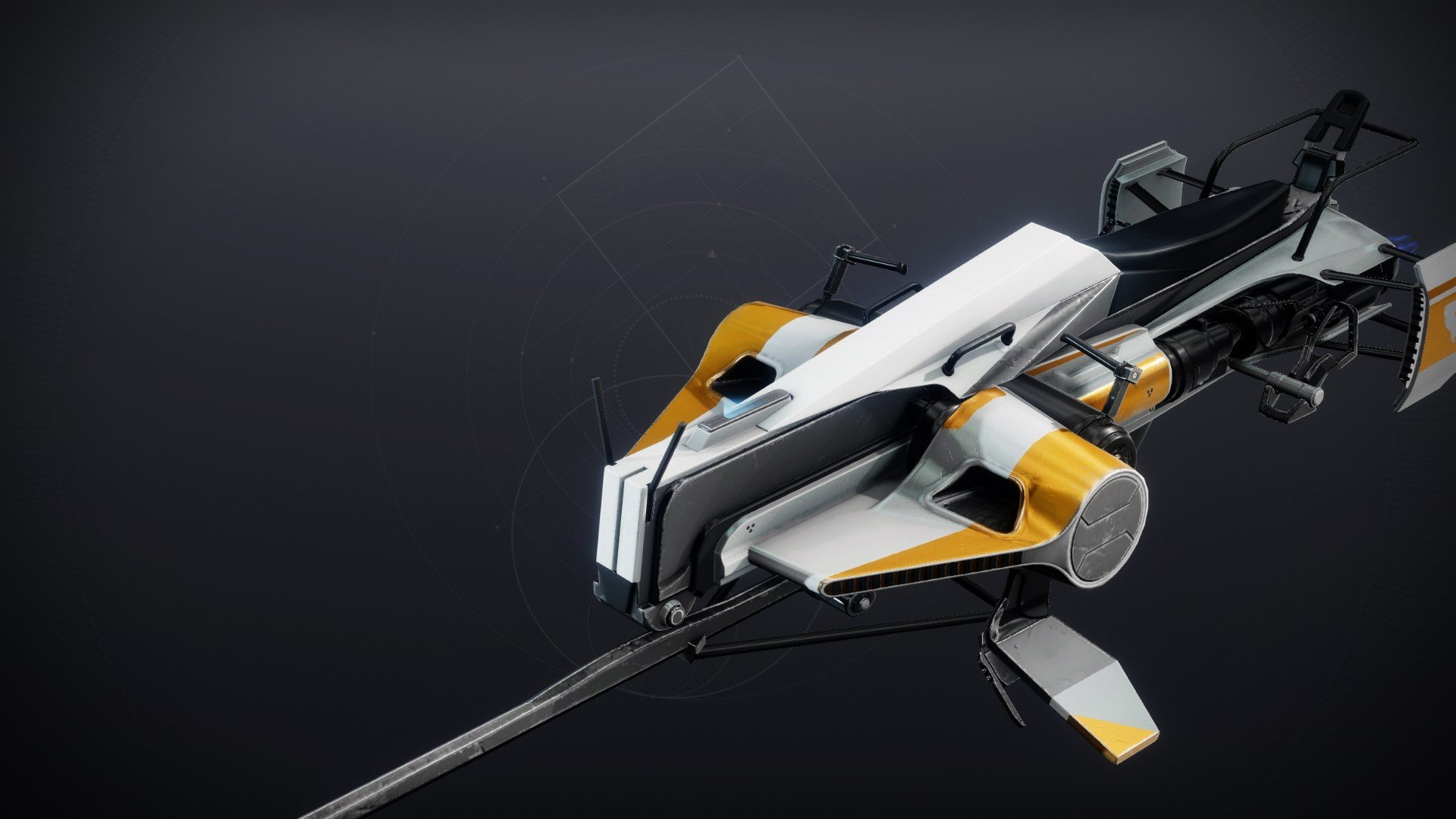 An in-game render of the The Lone Howl.