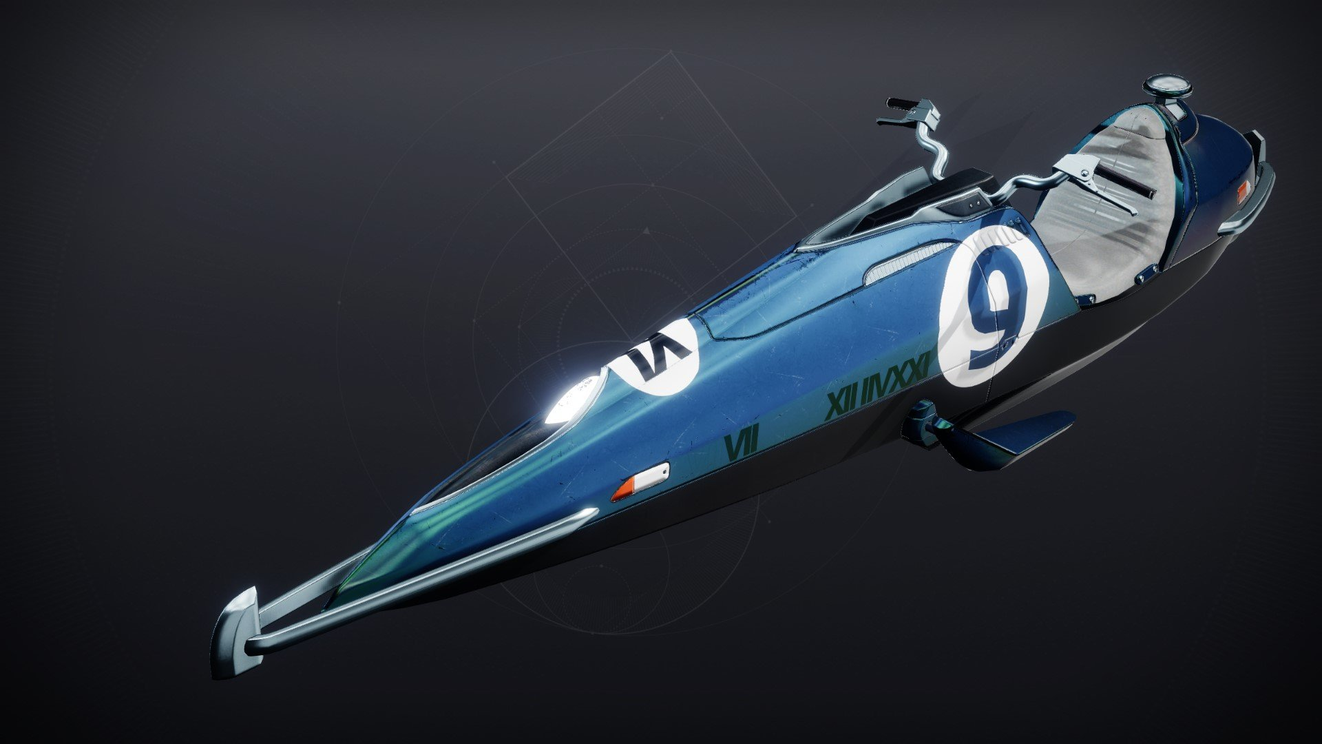 An in-game render of the Kosmos Starling.