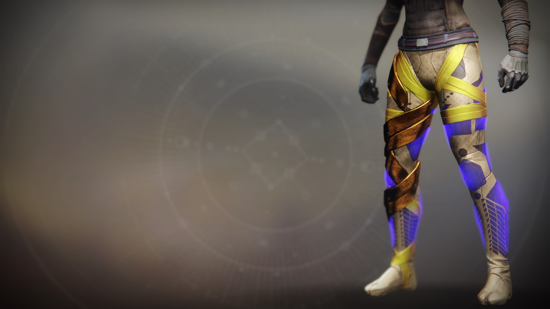An in-game render of the Boots of the Emperor's Agent.