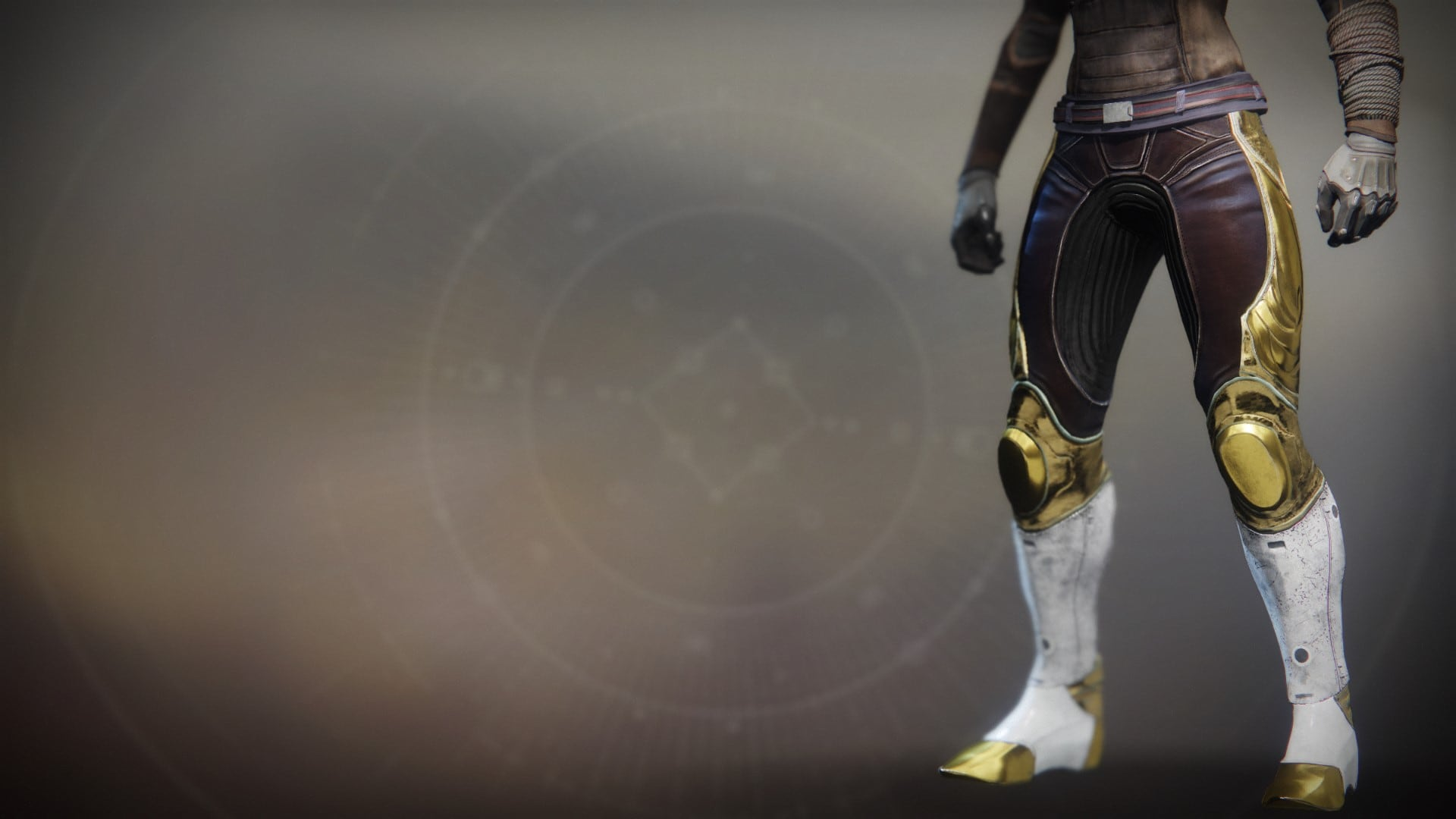 An in-game render of the Solstice Strides (Majestic).