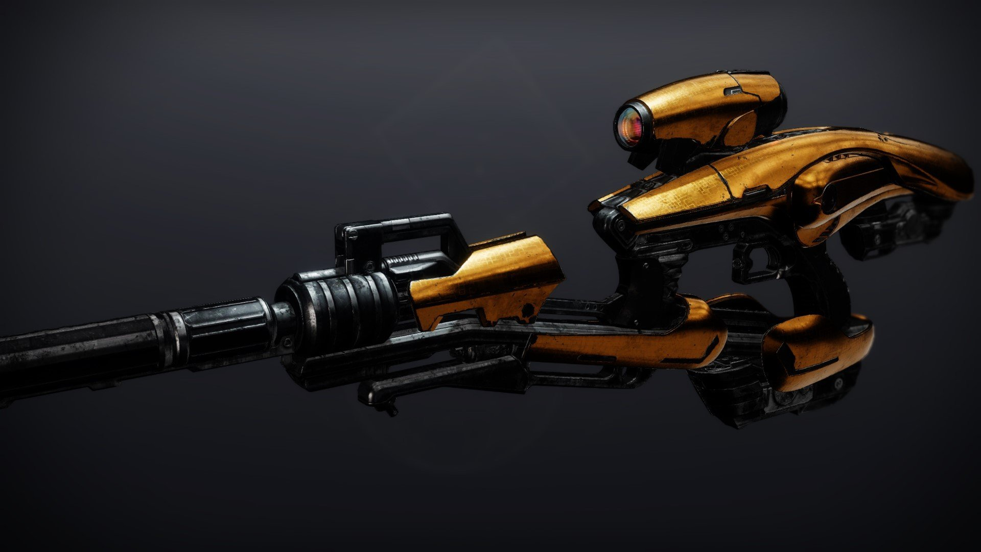 An in-game render of the Vex Mythoclast.